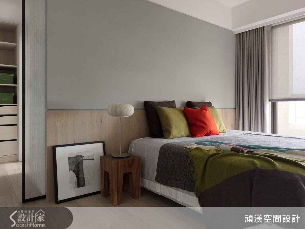 40坪新成屋(5年以下)_北歐風臥室案例圖片_頑渼空間設計_頑渼_12之20