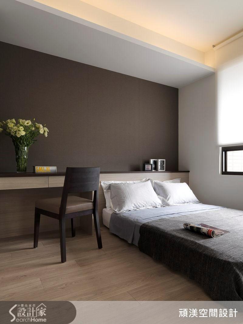 40坪新成屋(5年以下)_北歐風臥室案例圖片_頑渼空間設計_頑渼_12之19