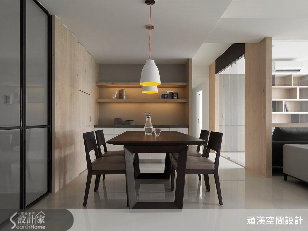 40坪新成屋(5年以下)_北歐風餐廳案例圖片_頑渼空間設計_頑渼_12之4