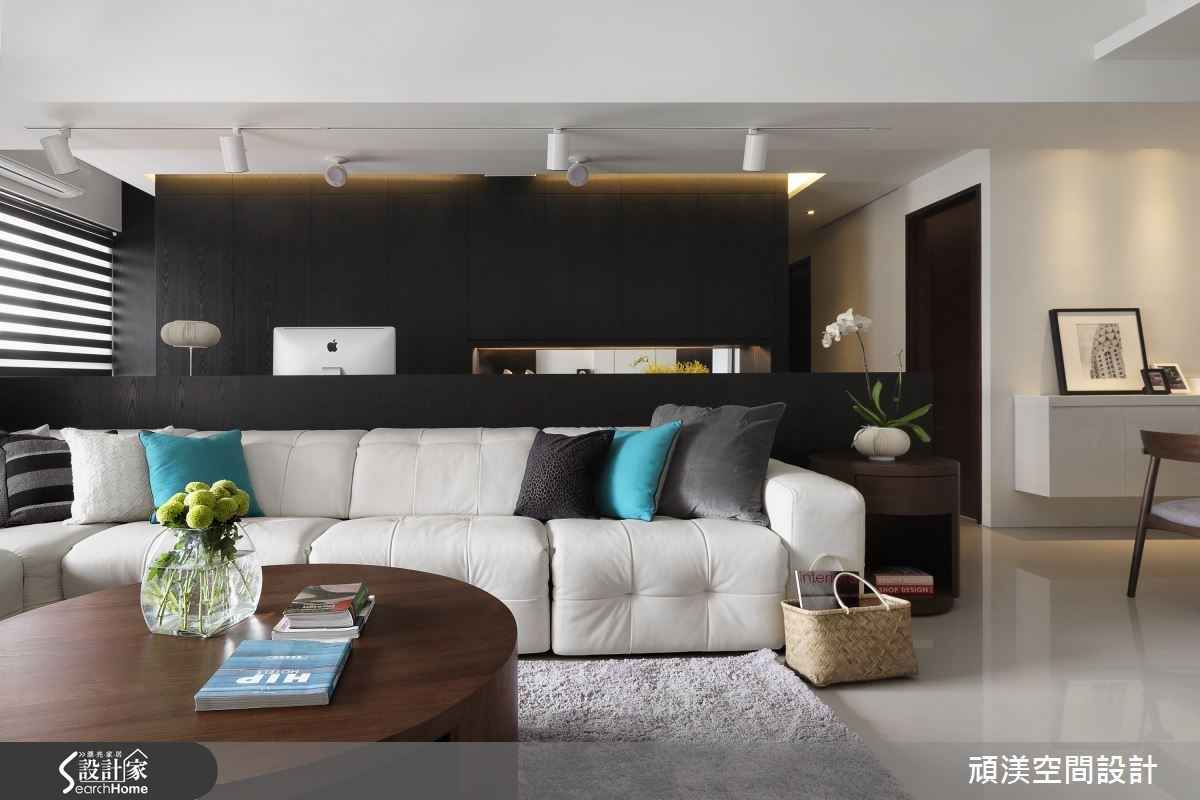45坪新成屋(5年以下)_北歐風客廳案例圖片_頑渼空間設計_頑渼_14之2