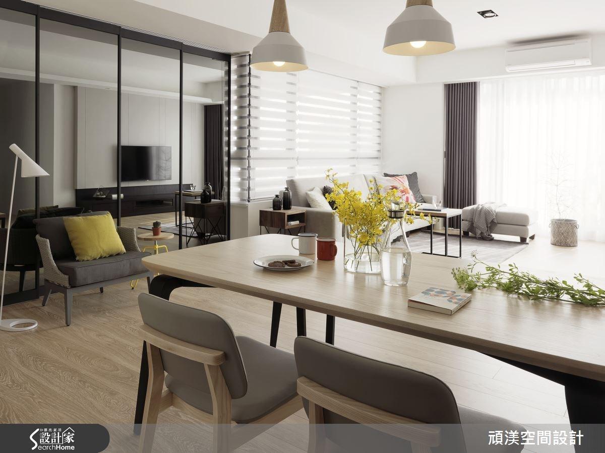 45坪新成屋(5年以下)_北歐風餐廳案例圖片_頑渼空間設計_頑渼_16之4