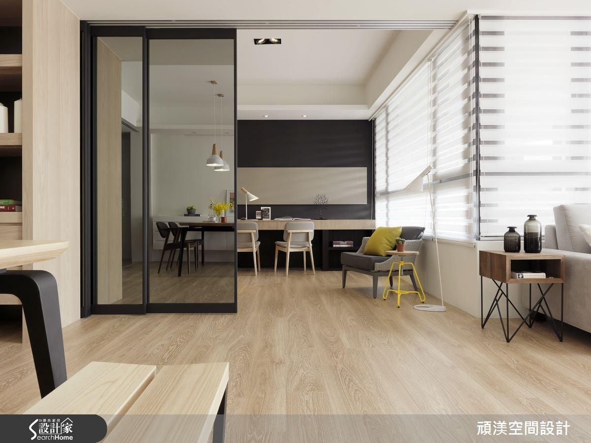 45坪新成屋(5年以下)_北歐風餐廳案例圖片_頑渼空間設計_頑渼_16之5