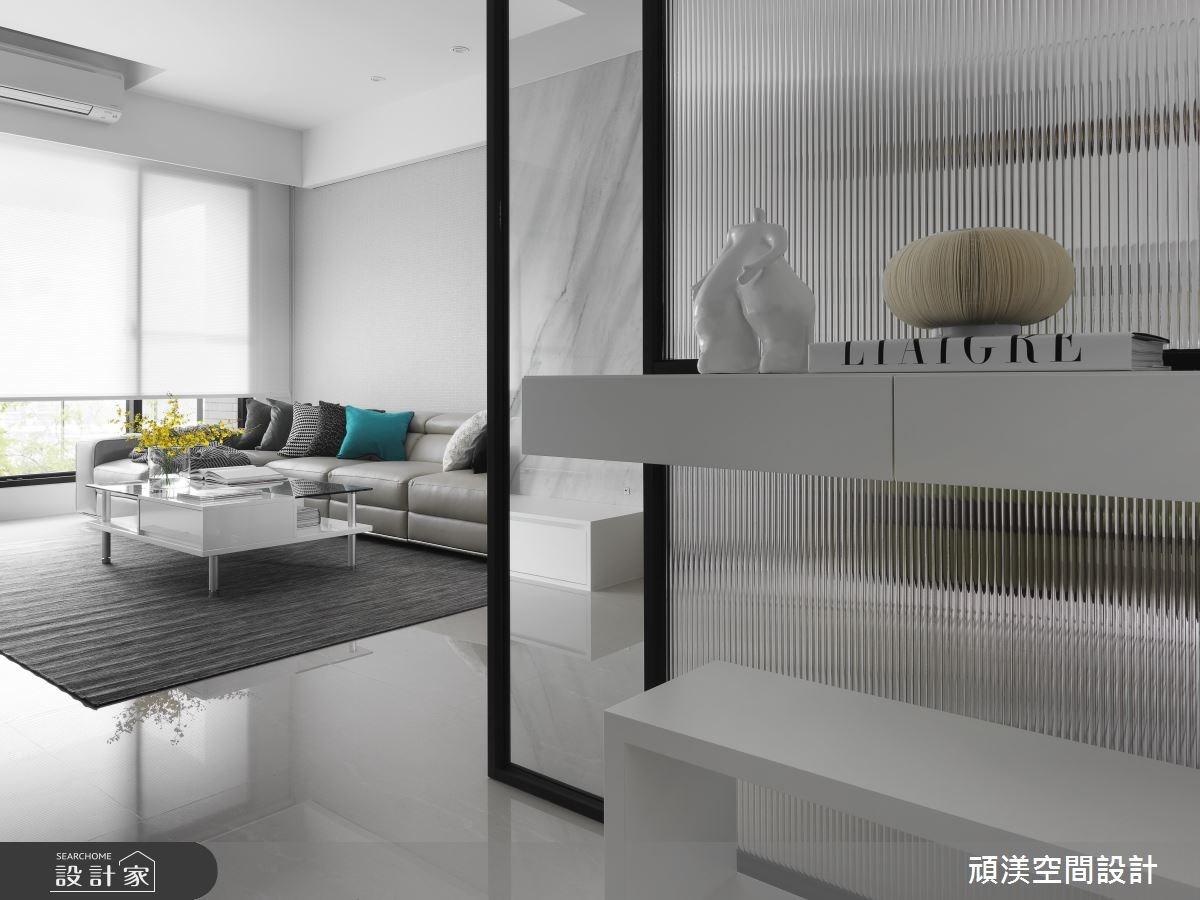 40坪新成屋(5年以下)_現代風玄關案例圖片_頑渼空間設計_頑渼_21之1
