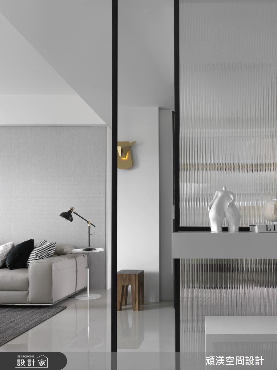 40坪新成屋(5年以下)_現代風玄關案例圖片_頑渼空間設計_頑渼_21之2