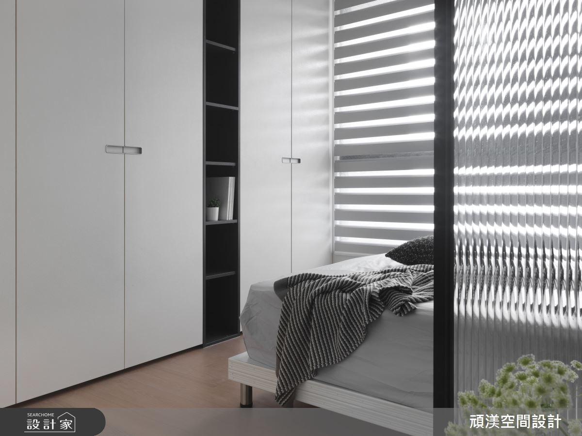 40坪新成屋(5年以下)_現代風臥室案例圖片_頑渼空間設計_頑渼_21之20