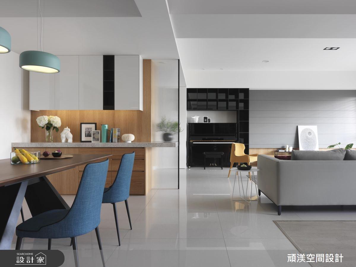 50坪新成屋(5年以下)_現代風餐廳案例圖片_頑渼空間設計_頑渼_22之5