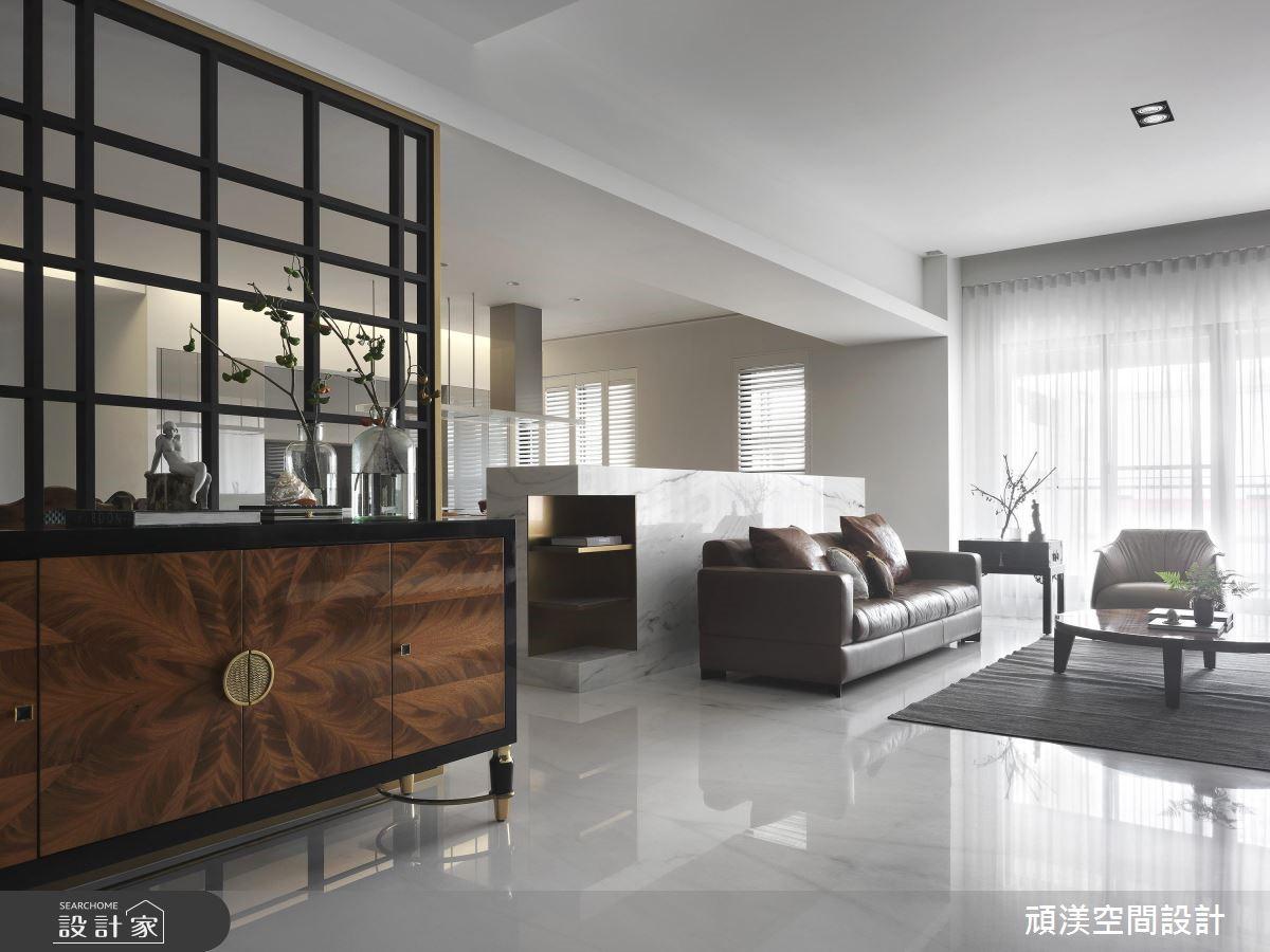 60坪新成屋(5年以下)_現代風客廳案例圖片_頑渼空間設計_頑渼_23之2