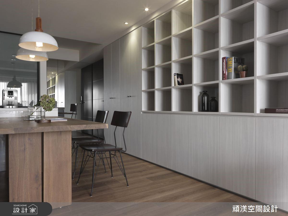 30坪新成屋(5年以下)_北歐風餐廳案例圖片_頑渼空間設計_頑渼_24之4