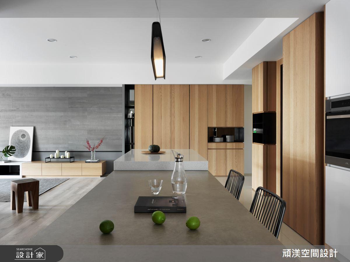 40坪預售屋_現代風餐廳案例圖片_頑渼空間設計_頑渼_25之1