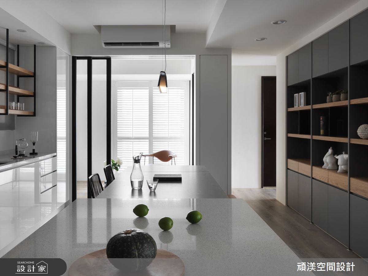 40坪預售屋_現代風餐廳案例圖片_頑渼空間設計_頑渼_25之7