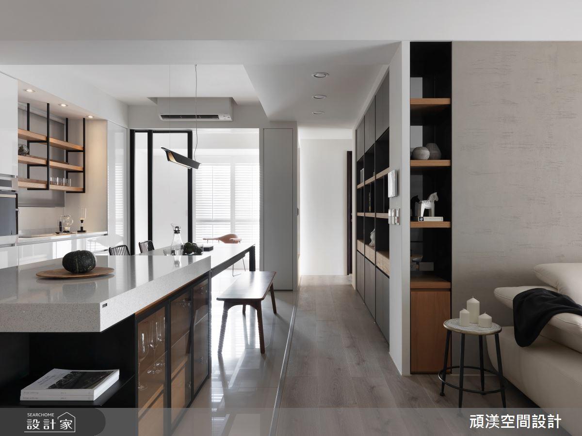 40坪預售屋_現代風餐廳案例圖片_頑渼空間設計_頑渼_25之5