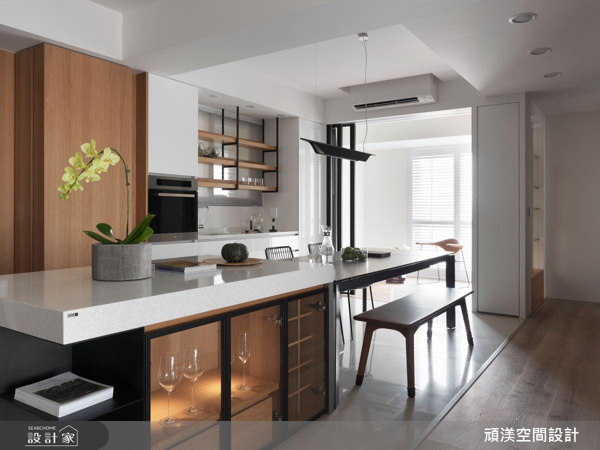 40坪預售屋_現代風餐廳案例圖片_頑渼空間設計_頑渼_25之9