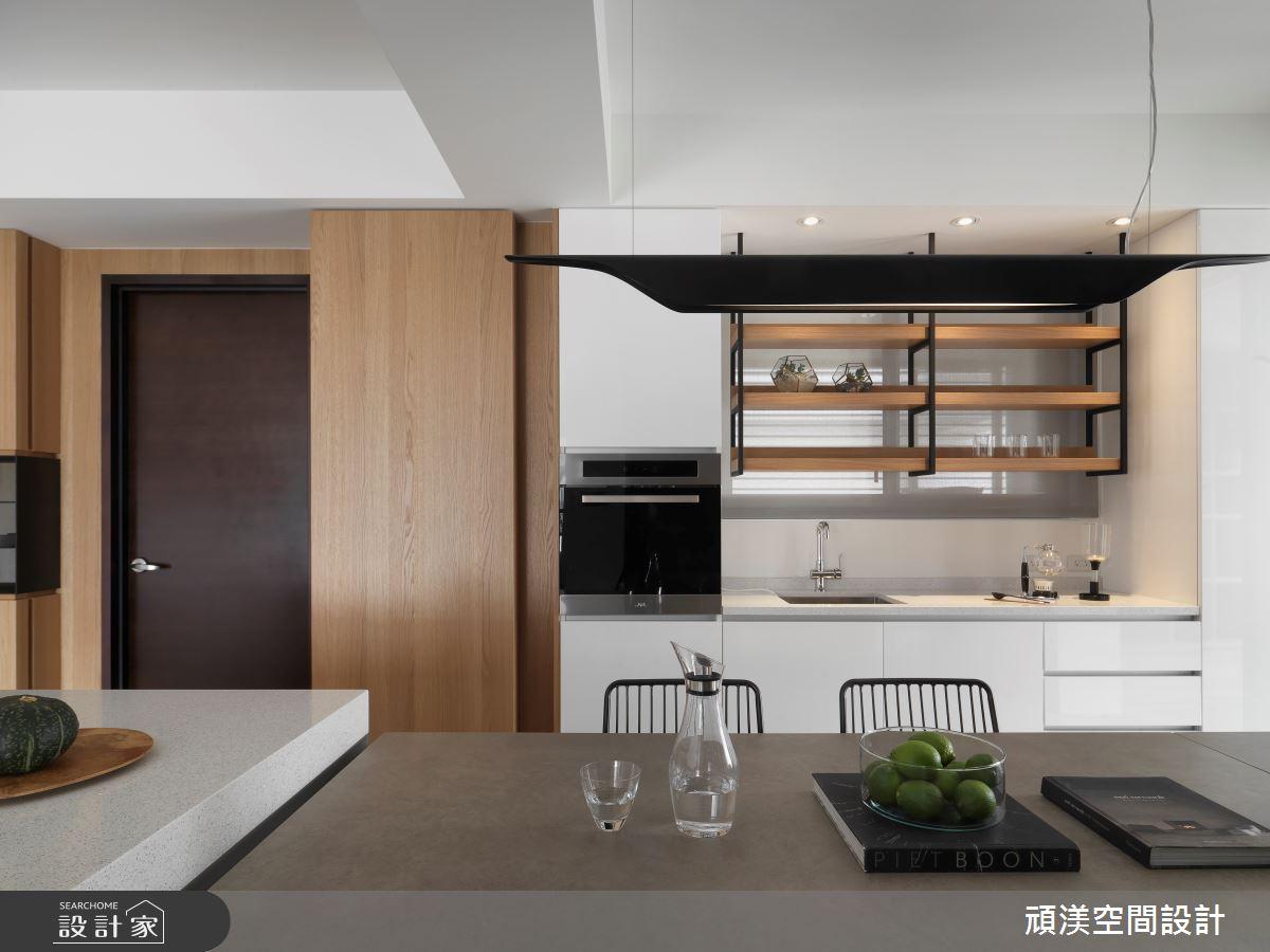 40坪預售屋_現代風餐廳廚房案例圖片_頑渼空間設計_頑渼_25之10