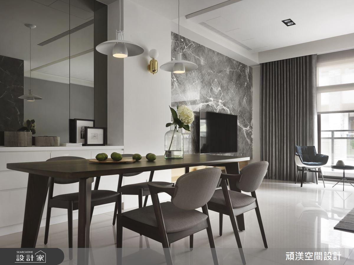60坪新成屋(5年以下)_現代風餐廳案例圖片_頑渼空間設計_頑渼_26之4