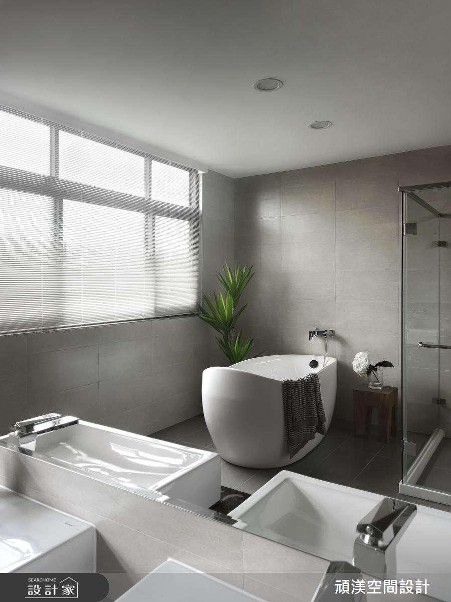60坪新成屋(5年以下)_現代風浴室案例圖片_頑渼空間設計_頑渼_26之21