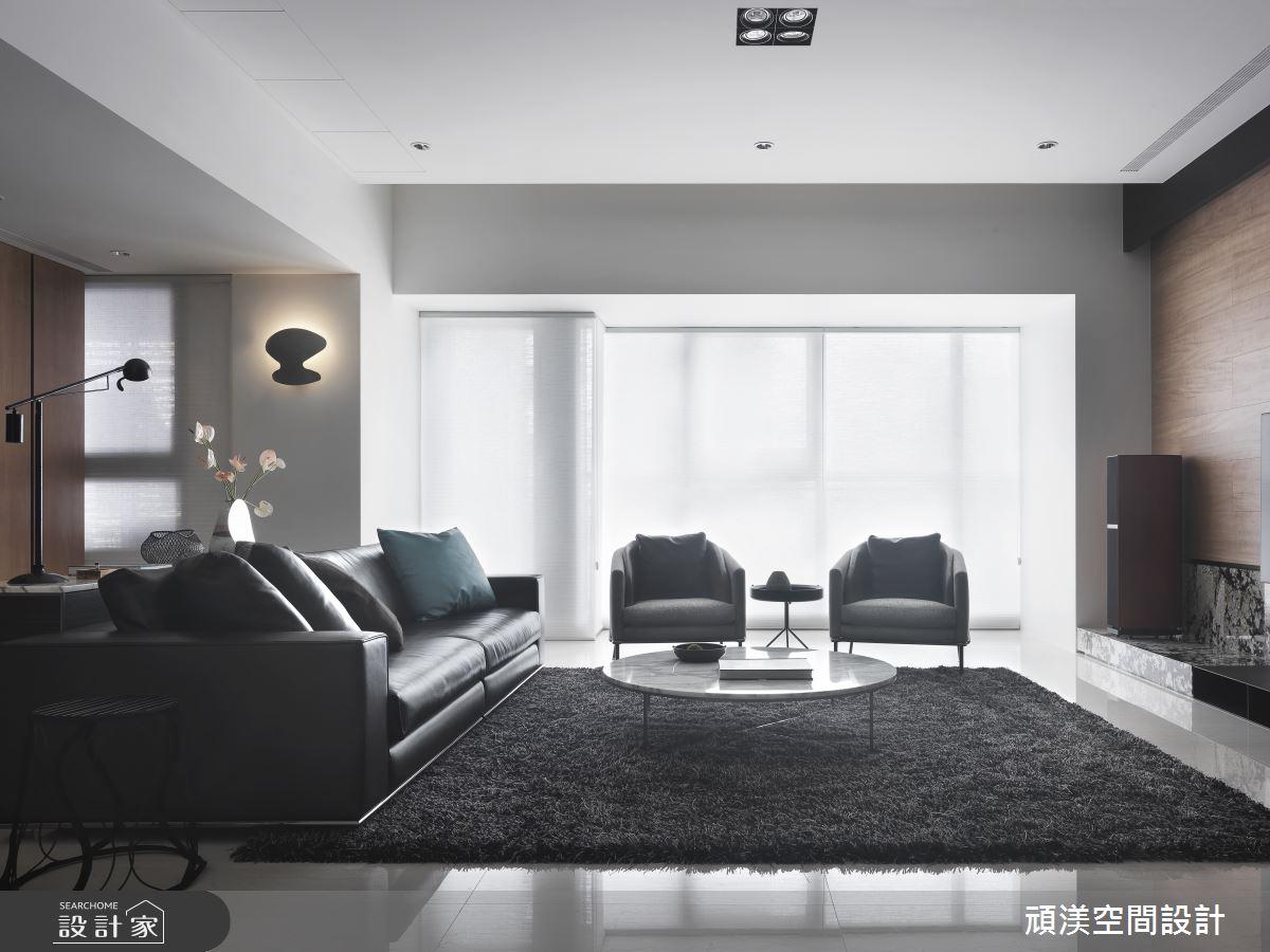 60坪新成屋(5年以下)_現代風客廳案例圖片_頑渼空間設計_頑渼_27之2
