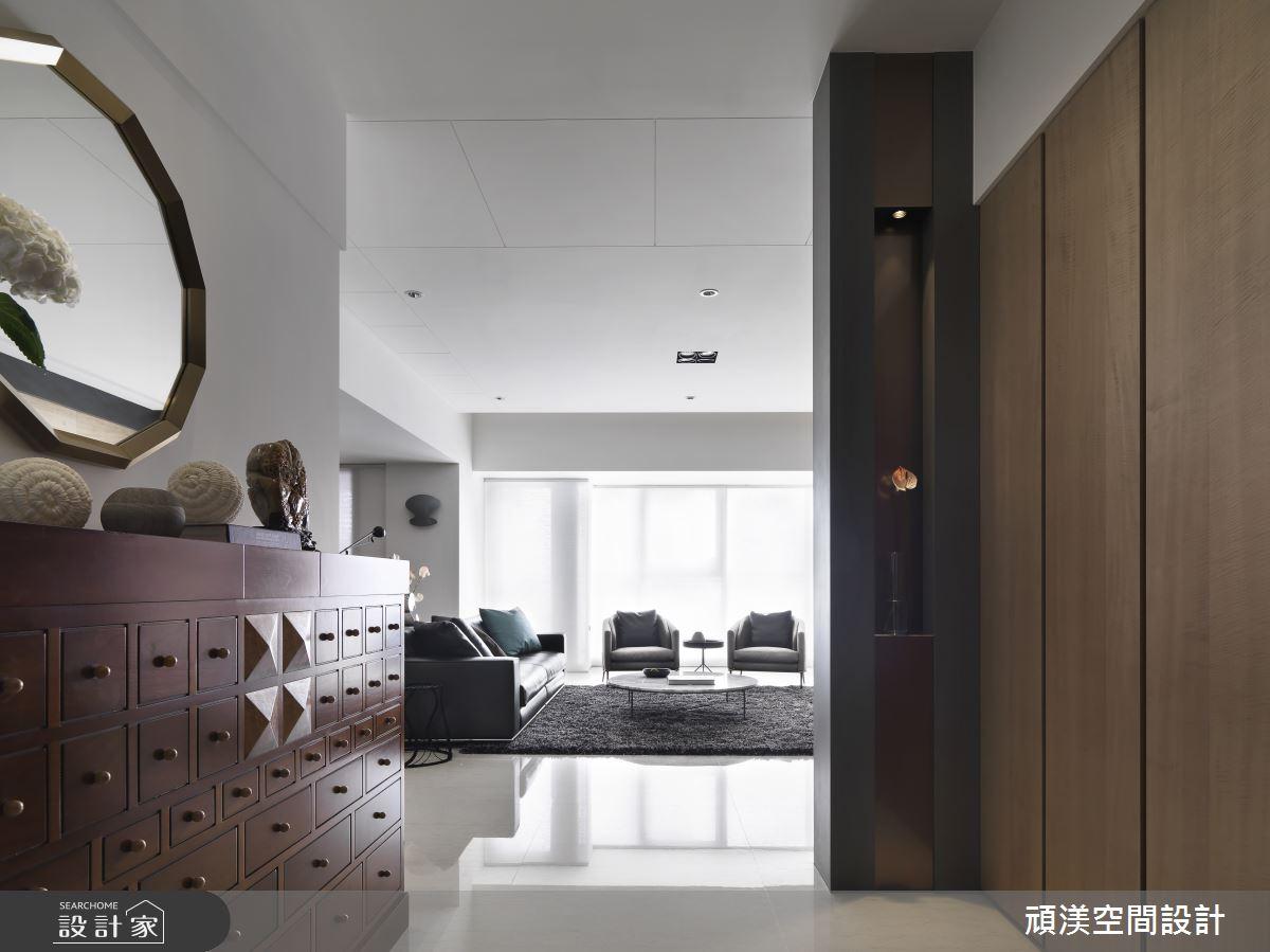 60坪新成屋(5年以下)_現代風客廳案例圖片_頑渼空間設計_頑渼_27之1