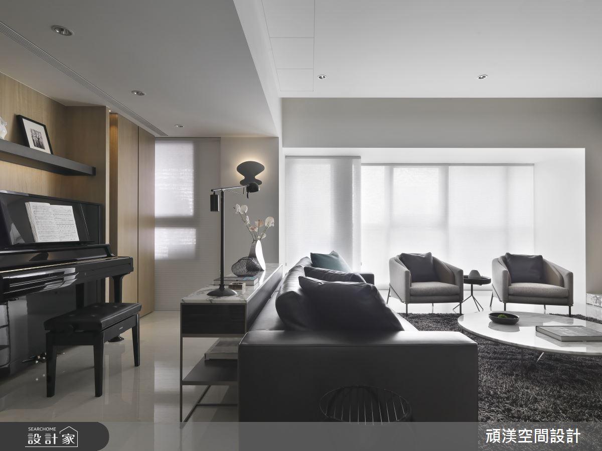 60坪新成屋(5年以下)_現代風客廳案例圖片_頑渼空間設計_頑渼_27之4
