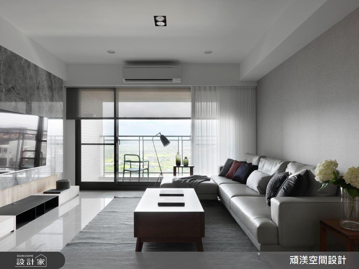 40坪新成屋(5年以下)_現代風客廳案例圖片_頑渼空間設計_頑渼_28之2