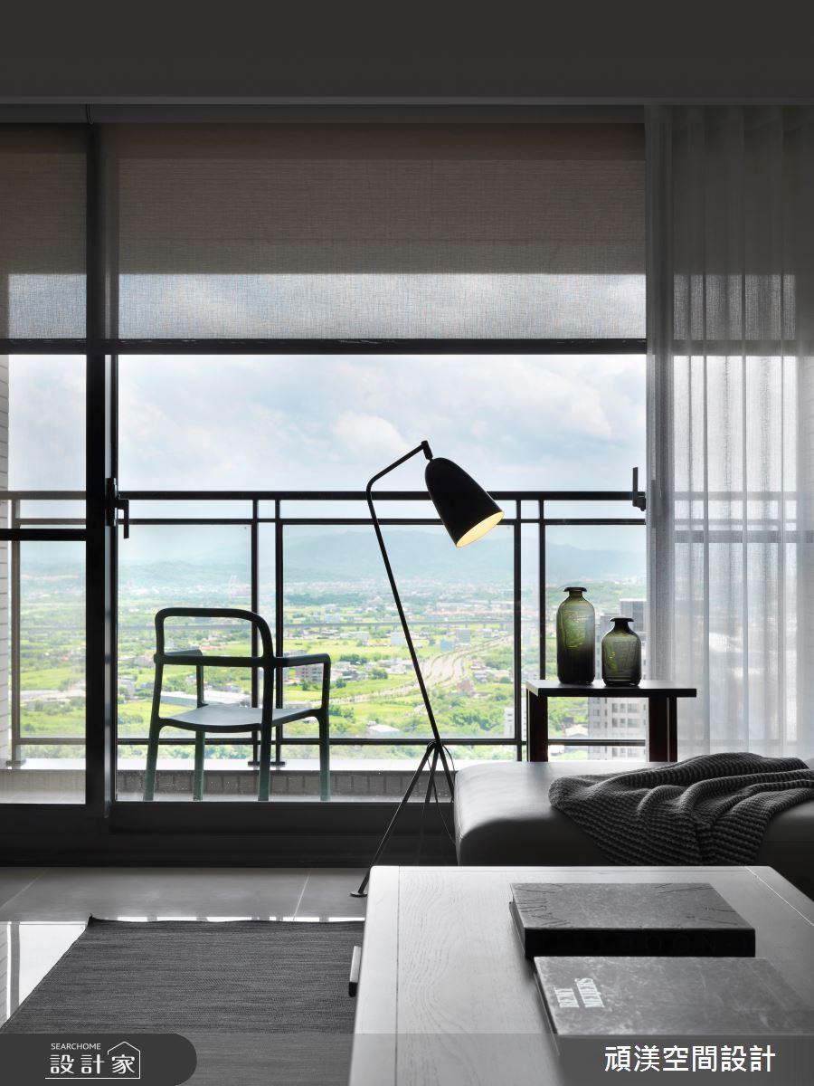 40坪新成屋(5年以下)_現代風客廳案例圖片_頑渼空間設計_頑渼_28之3