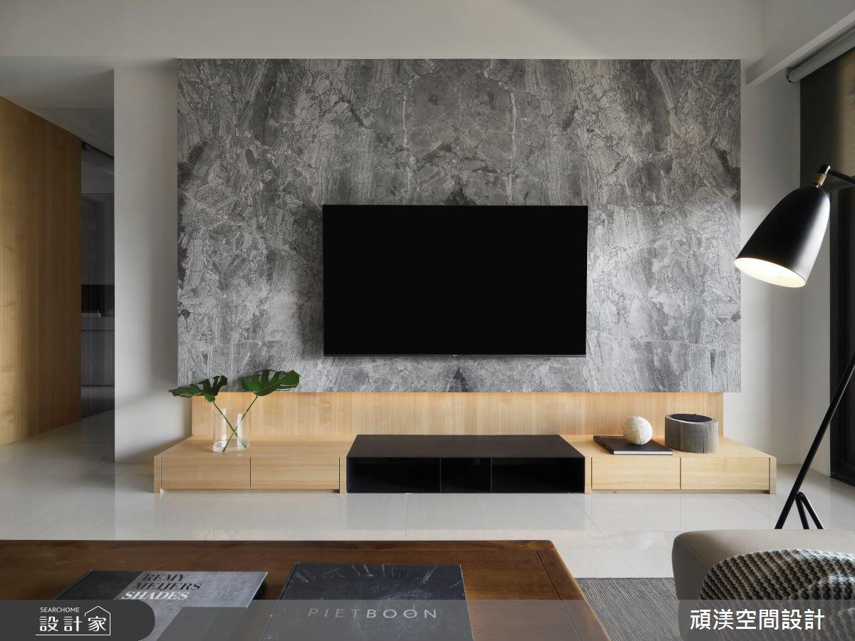 40坪新成屋(5年以下)_現代風客廳案例圖片_頑渼空間設計_頑渼_28之5