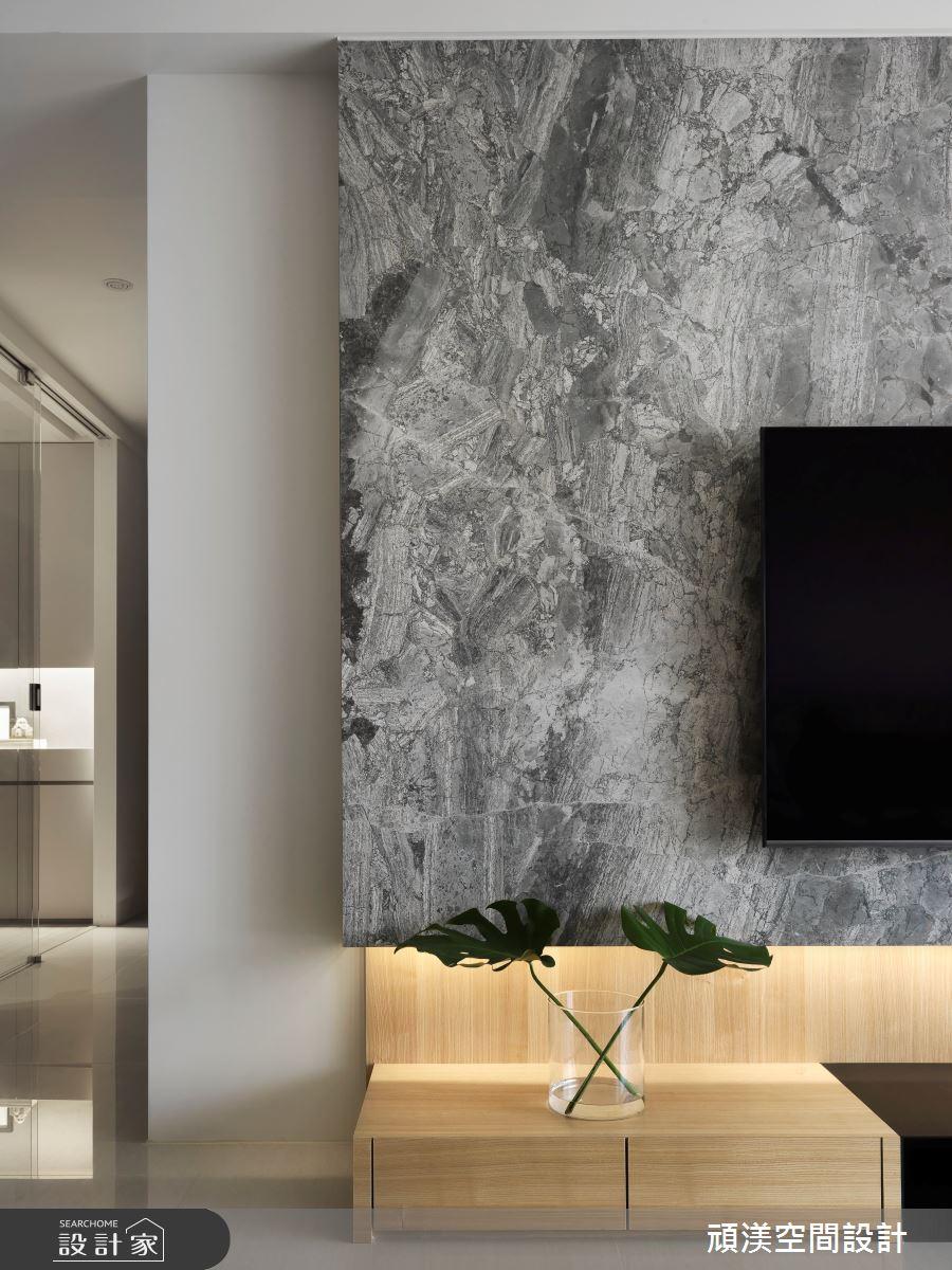 40坪新成屋(5年以下)_現代風客廳案例圖片_頑渼空間設計_頑渼_28之6