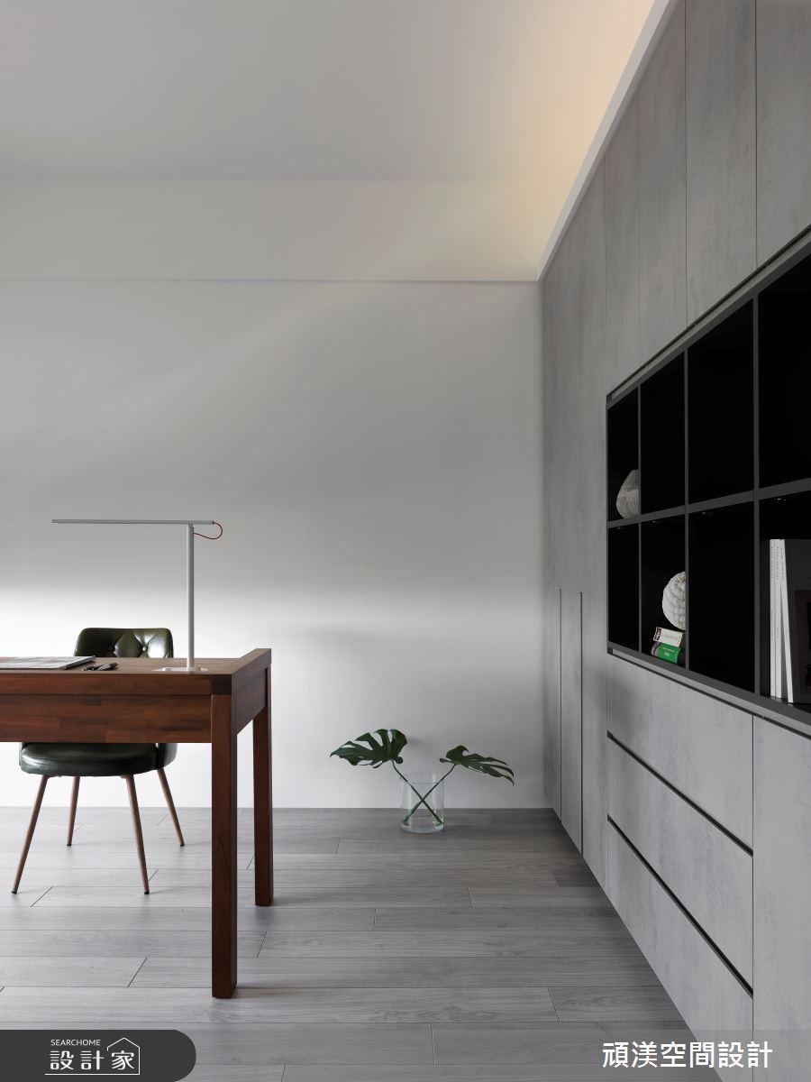 40坪新成屋(5年以下)_現代風書房案例圖片_頑渼空間設計_頑渼_28之14