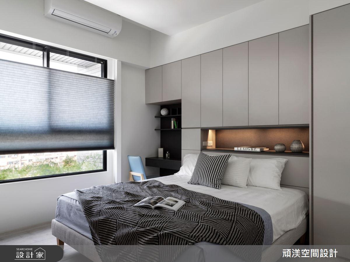 38坪新成屋(5年以下)_現代風臥室案例圖片_頑渼空間設計_頑渼_30之19