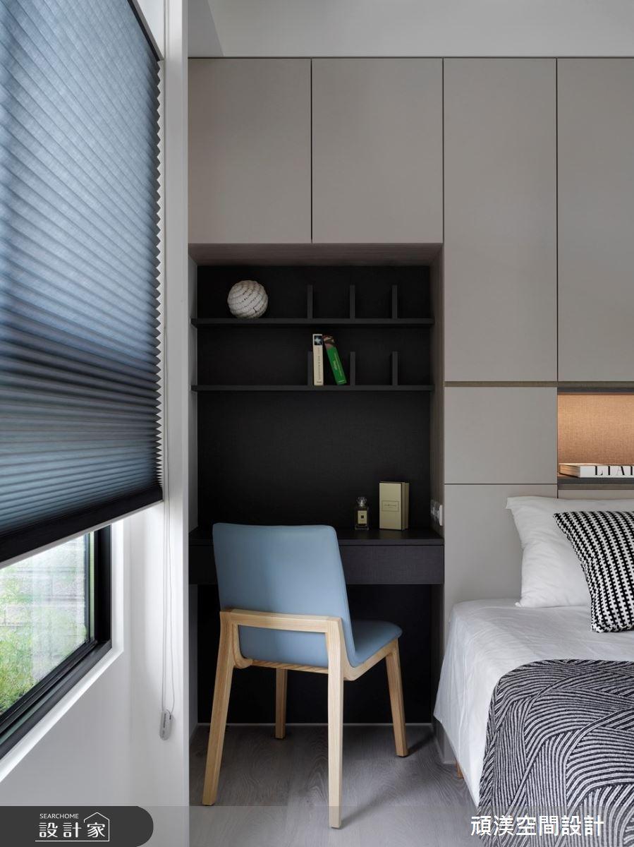 38坪新成屋(5年以下)_現代風臥室案例圖片_頑渼空間設計_頑渼_30之21