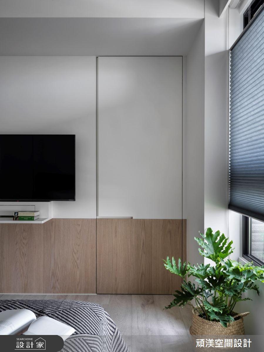 38坪新成屋(5年以下)_現代風臥室案例圖片_頑渼空間設計_頑渼_30之22