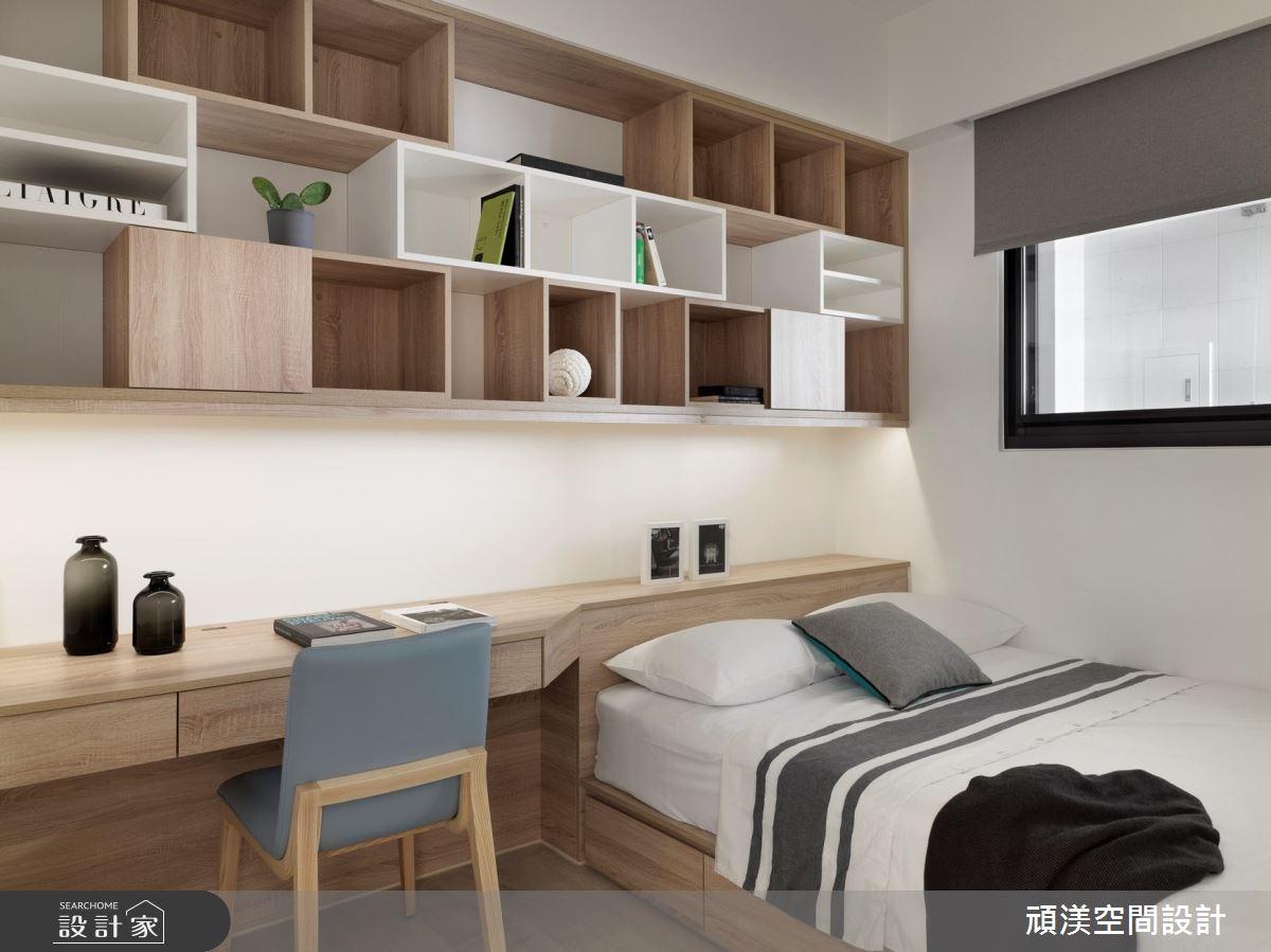 38坪新成屋(5年以下)_現代風臥室客房兒童房兒童房案例圖片_頑渼空間設計_頑渼_30之24