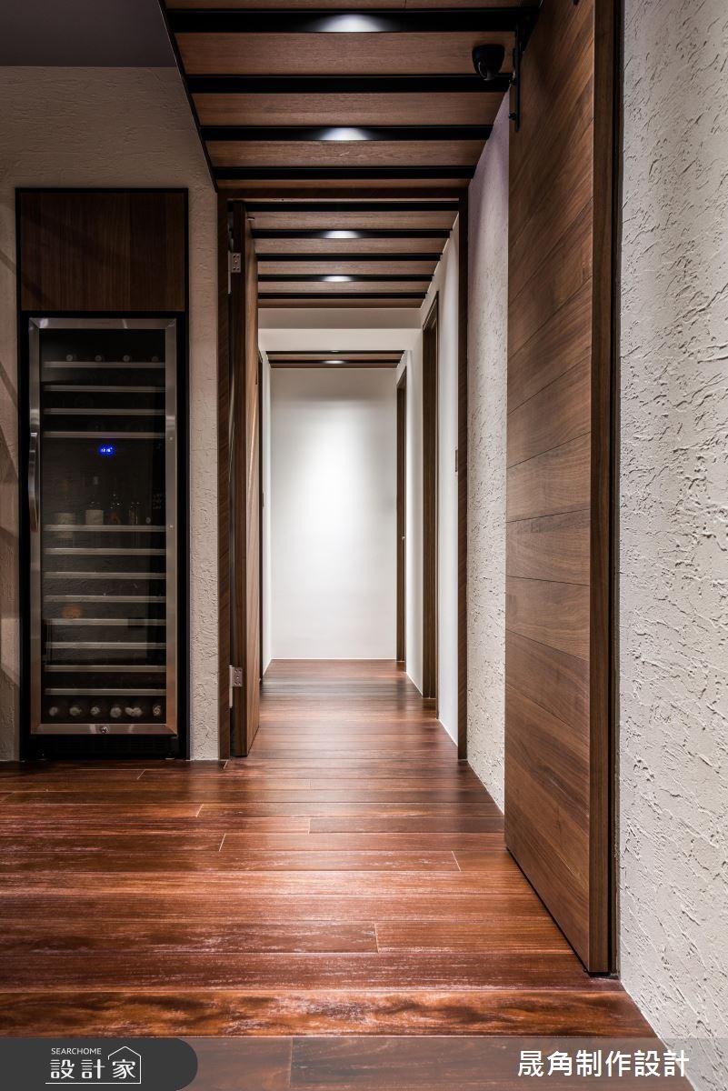60坪新成屋(5年以下)_現代風走廊案例圖片_晟角制作設計有限公司_晟角_爵士之2