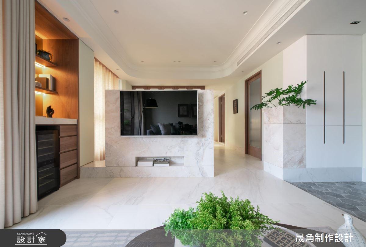 45坪中古屋(5~15年)_新古典客廳案例圖片_晟角制作設計有限公司_晟角_青鳥之9
