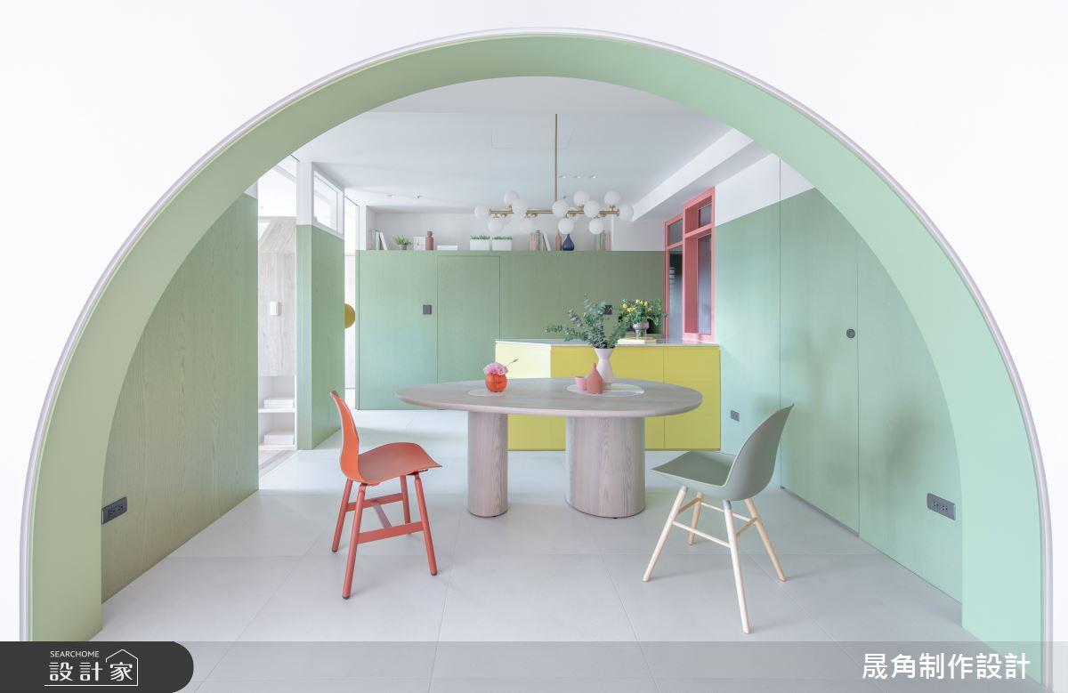 50坪新成屋(5年以下)_北歐風餐廳案例圖片_晟角制作設計有限公司_晟角_印象之10