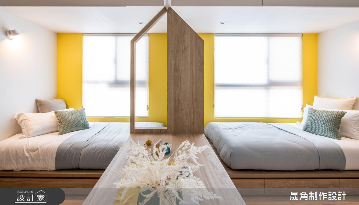 50坪新成屋(5年以下)_北歐風臥室案例圖片_晟角制作設計有限公司_晟角_印象之15