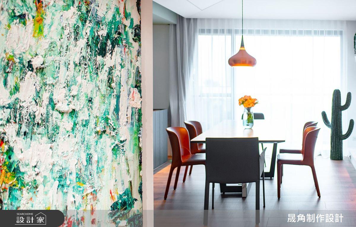 60坪新成屋(5年以下)_北歐風餐廳案例圖片_晟角制作設計有限公司_晟角_風稜之3
