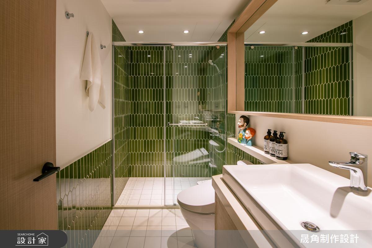28坪老屋(41~50年)_北歐風浴室案例圖片_晟角制作設計有限公司_晟角_桐月之21