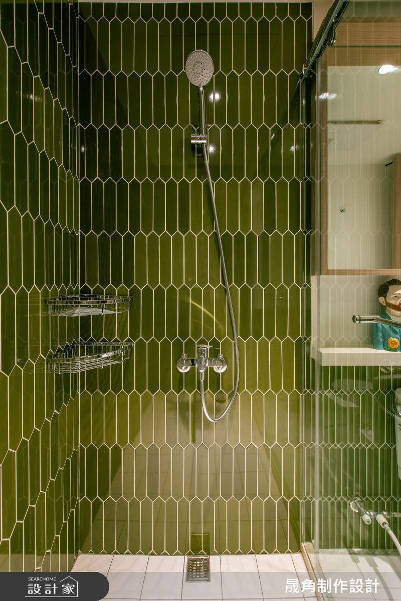 28坪老屋(41~50年)_北歐風浴室案例圖片_晟角制作設計有限公司_晟角_桐月之22