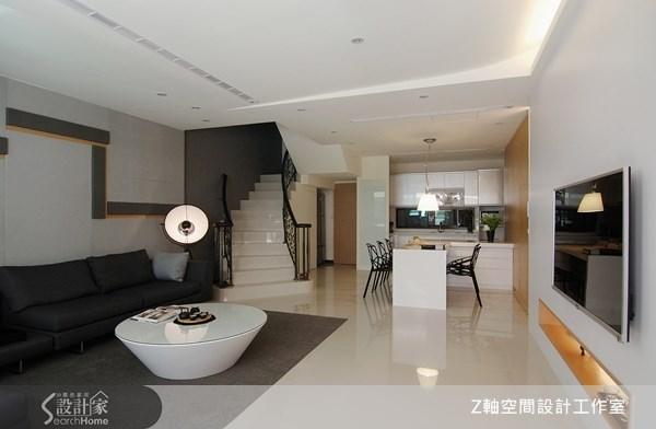 44坪新成屋(5年以下)_簡約風案例圖片_Z軸空間設計_Z軸_03之1