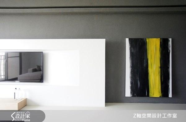 18坪新成屋(5年以下)_現代風案例圖片_Z軸空間設計_Z軸_02之4