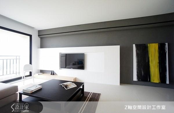 18坪新成屋(5年以下)_現代風案例圖片_Z軸空間設計_Z軸_02之3