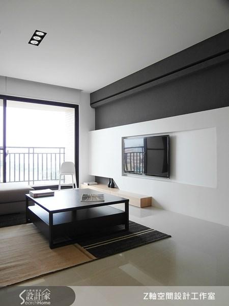 18坪新成屋(5年以下)_現代風案例圖片_Z軸空間設計_Z軸_02之5