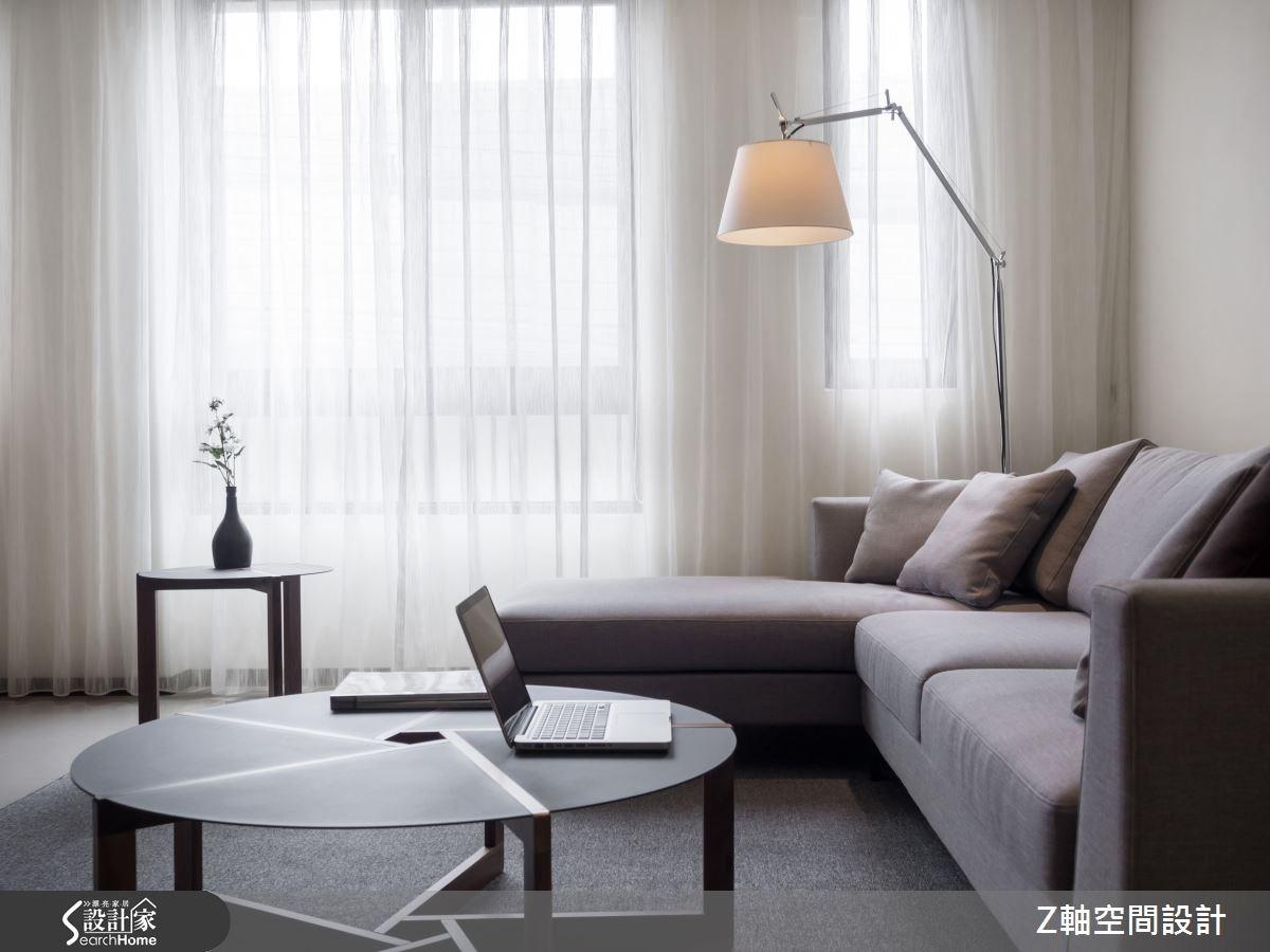 30坪新成屋(5年以下)_簡約風案例圖片_Z軸空間設計_Z軸_06之1