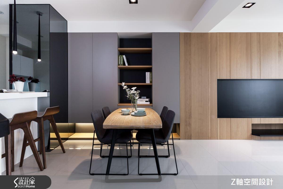 30坪新成屋(5年以下)_簡約風案例圖片_Z軸空間設計_Z軸_06之3