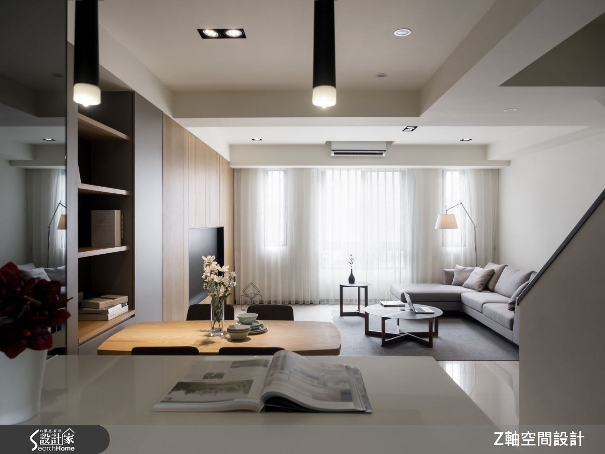 30坪新成屋(5年以下)_簡約風案例圖片_Z軸空間設計_Z軸_06之5