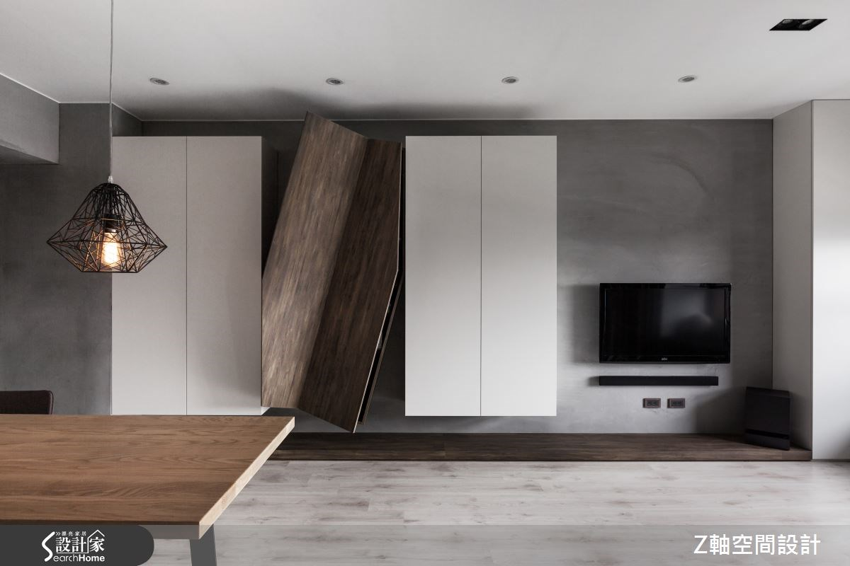 20坪新成屋(5年以下)_工業風案例圖片_Z軸空間設計_Z軸_07之2