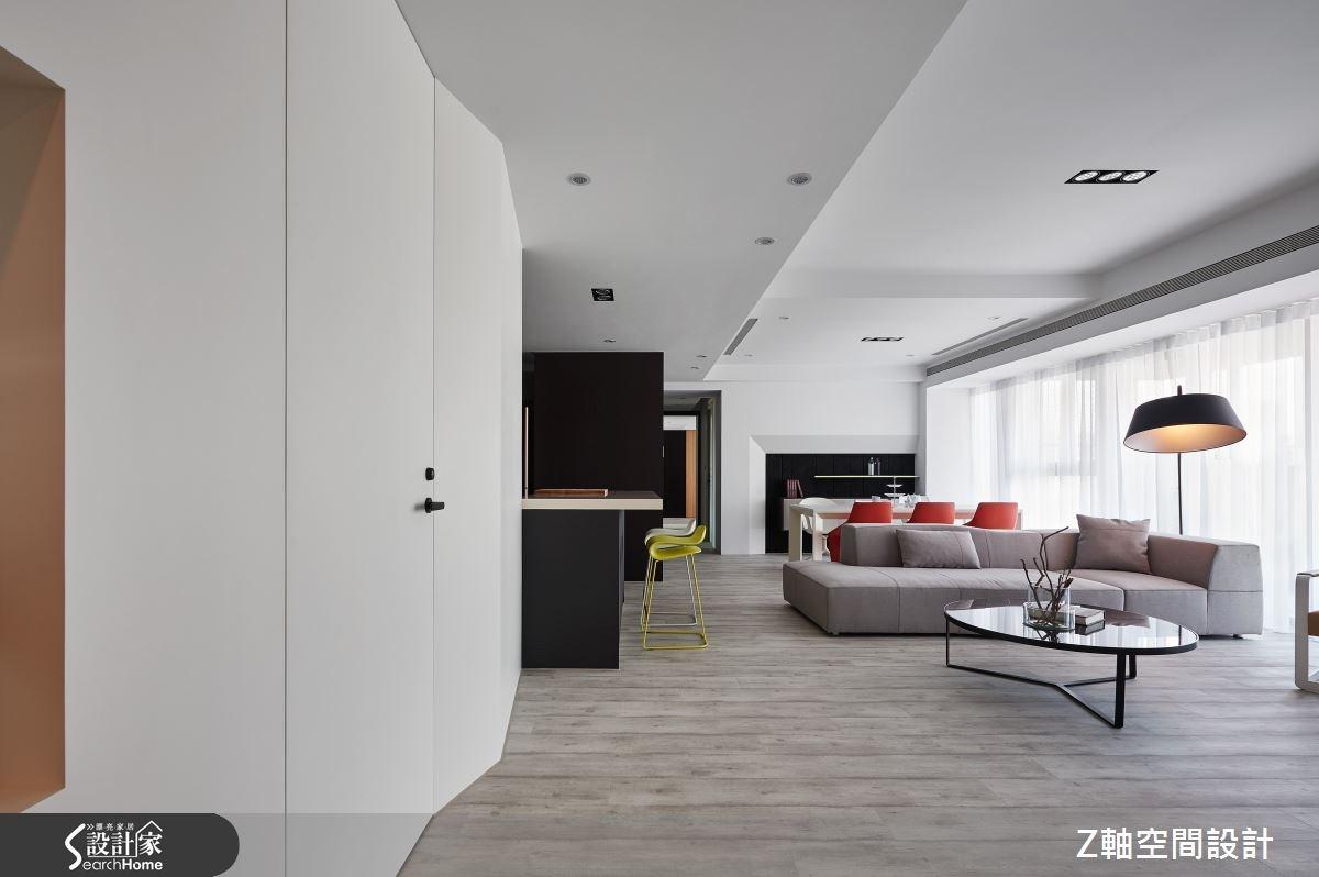 55坪新成屋(5年以下)_現代風案例圖片_Z軸空間設計_Z軸_17之3