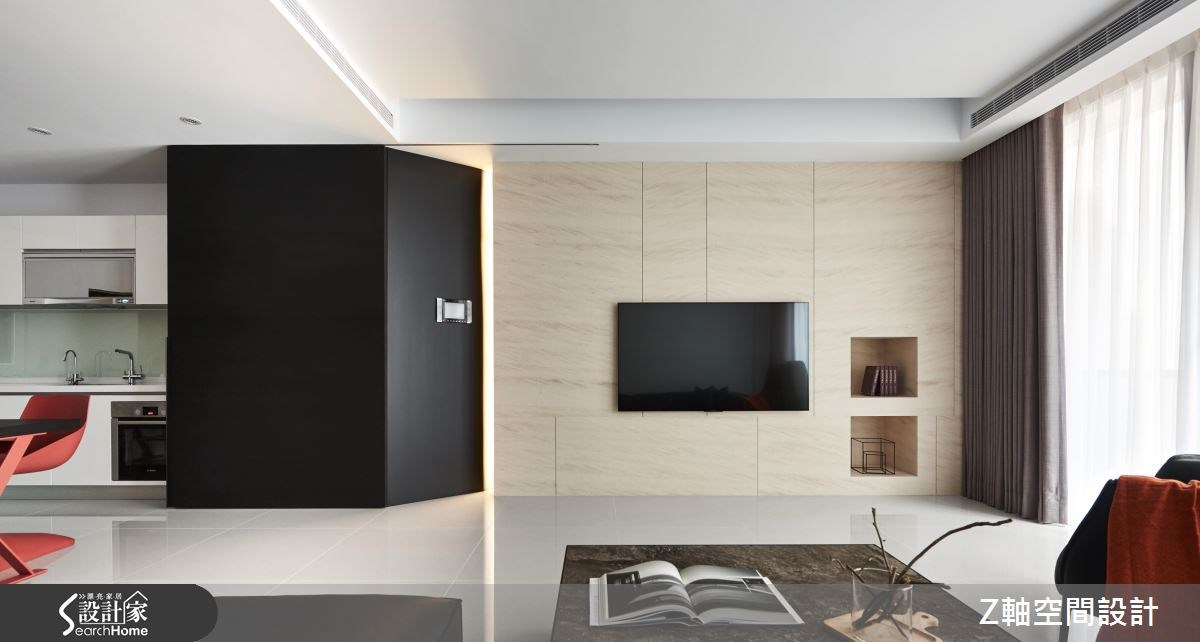 55坪新成屋(5年以下)_現代風案例圖片_Z軸空間設計_Z軸_20之2