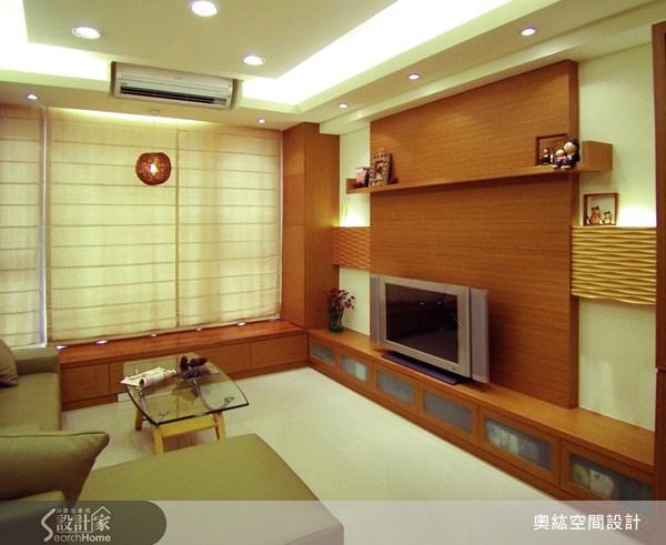 25坪新成屋(5年以下)_新中式風案例圖片_奧紘空間設計_奧紘_01之1