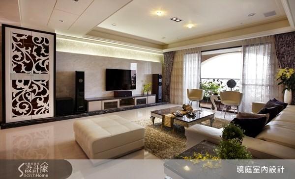 90坪新成屋(5年以下)_混搭風餐廳案例圖片_境庭室內裝修工程有限公司_境庭_05之5